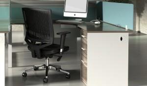 Linz Shaped Workstation Furniture