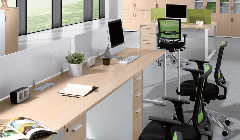 Linear Modular Workstation for Office