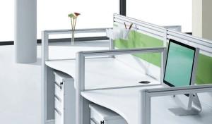 Linear Modern Office Workstations