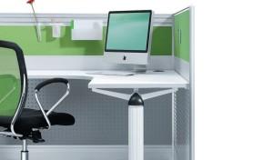 Office Workstation - Smart Wave Shaped