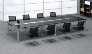 conference room with chairs and table