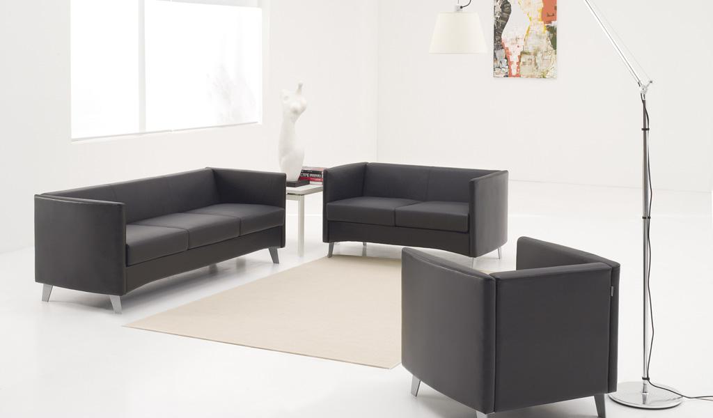 Sleek Office Sofa Boss S Cabin