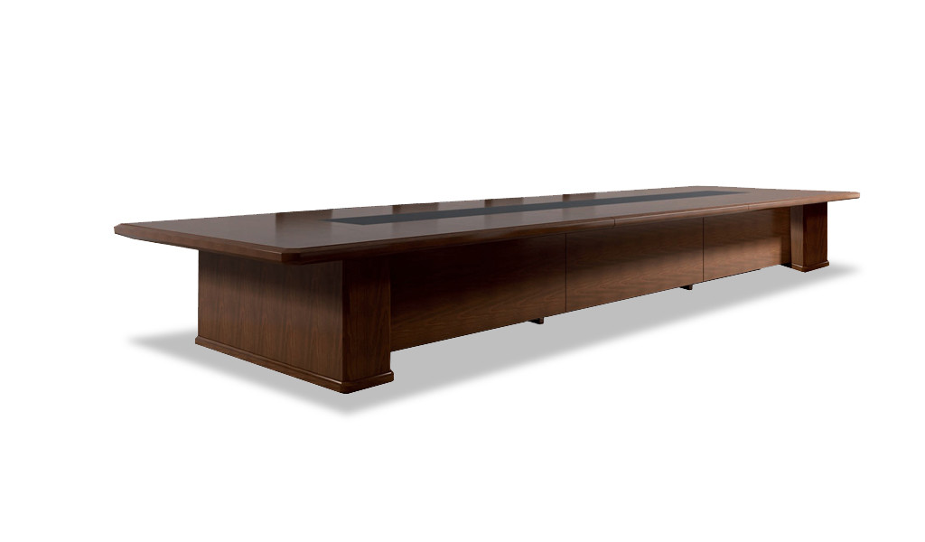 Royale 12 Seat Conference Table In Wood : BCCR-28-3.2