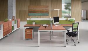 Modular office furniture 'E-Half - Cross'