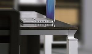 red oak veneer conference table top
