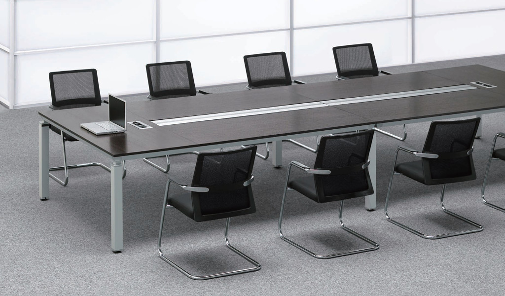 8 Seat Conference Table and Chairs