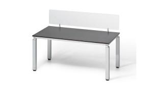 Modular Desking System In Veneer 'Easy'