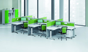 'Smart' 90 Degree L Shaped Workstations