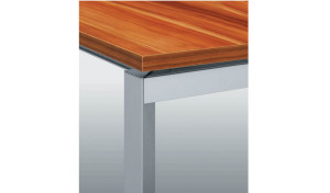 Customized linear desk 'E-Half - Straight'