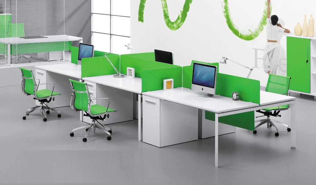 Linear Desking System 'E-Half - Linear'