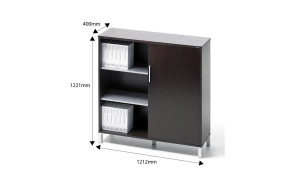 eazy two door file cabinet with dimensions