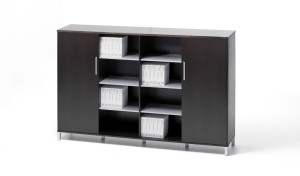 four door office cabinet and book case