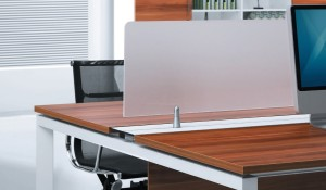 Office workstation 'E-Half - Straight'