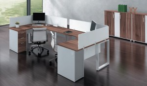 Linz Cluster Workstation Furniture
