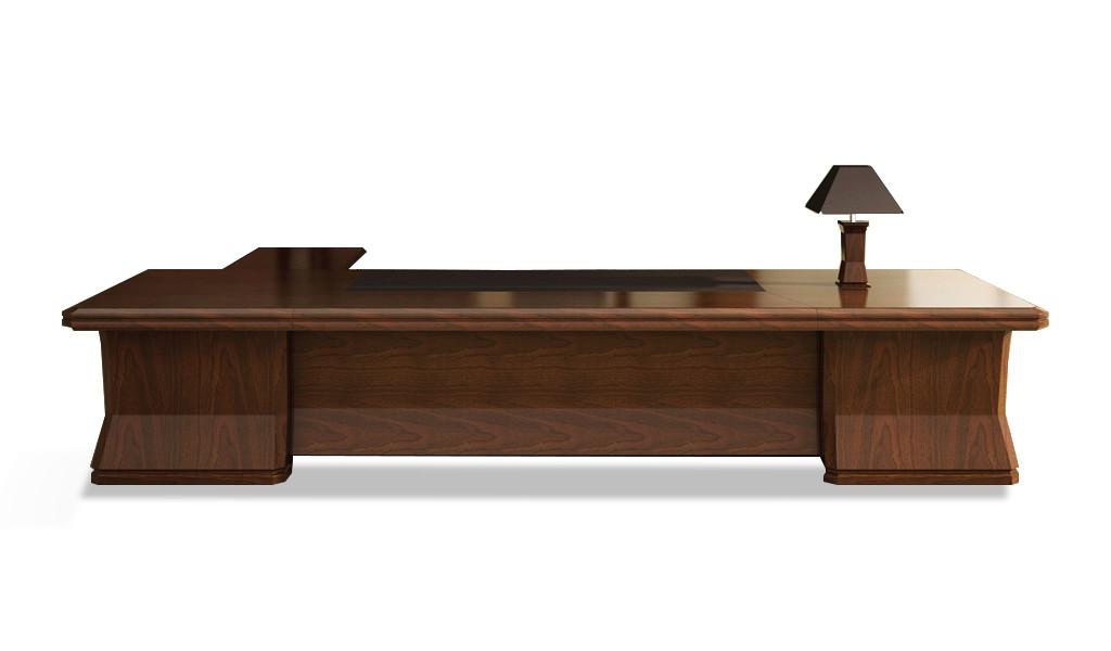 large office desk in classic design