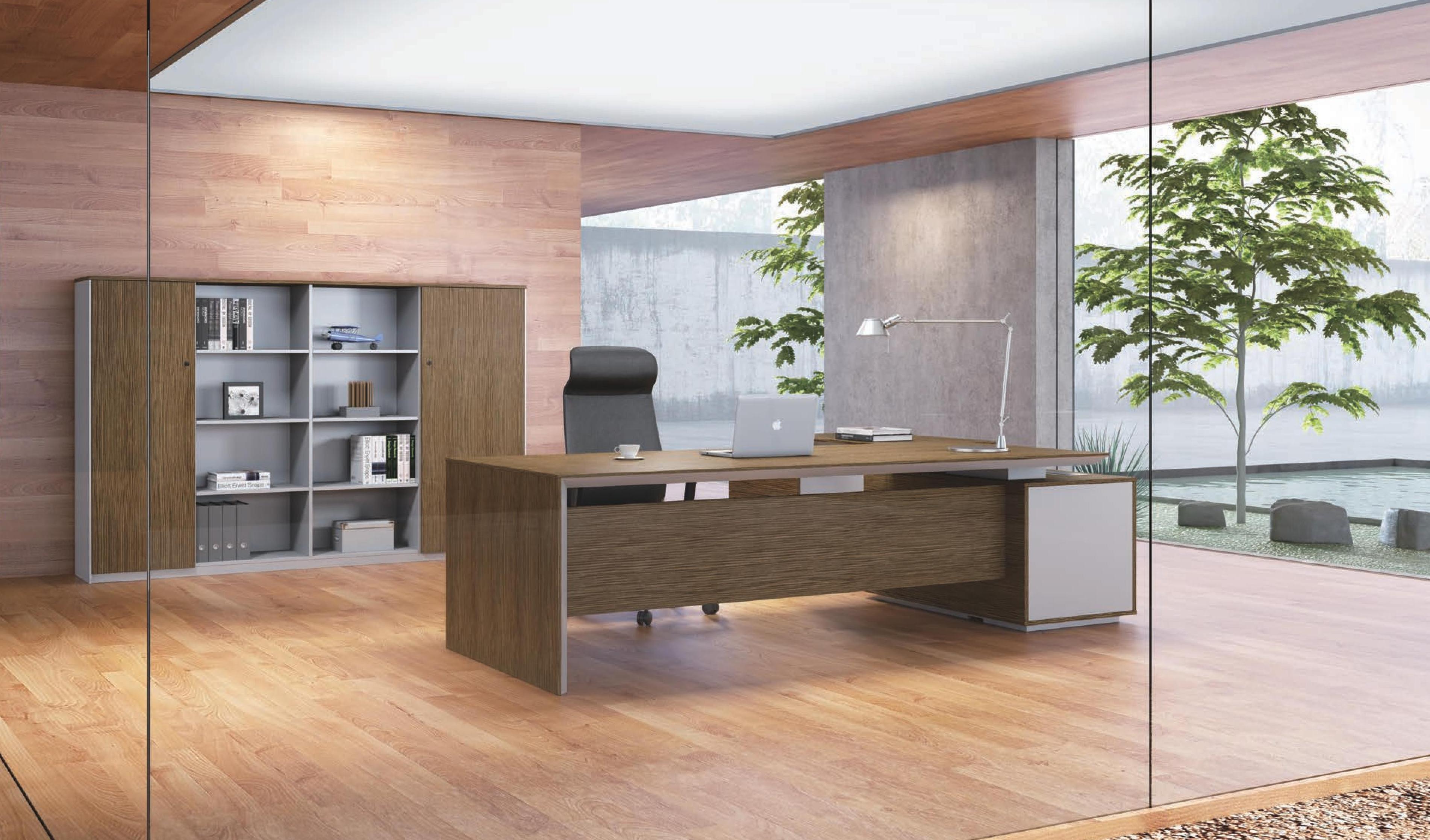 Sirius 8 Feet Office Table Boss S Cabin