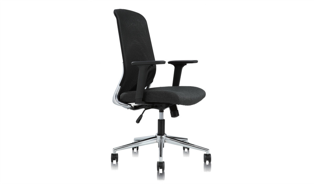 office chair with weight activated synchro tilt