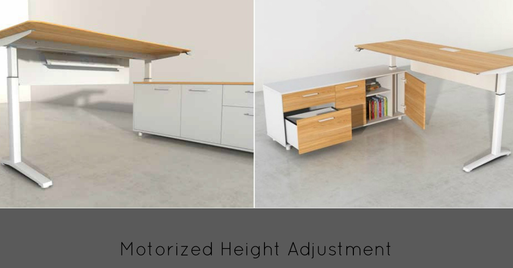 Motorized Height Adjustment Desks