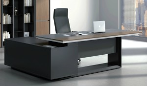 office cabin with modern office table, chair and cabinet