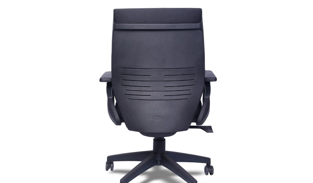 office chair with hard PP seat shell