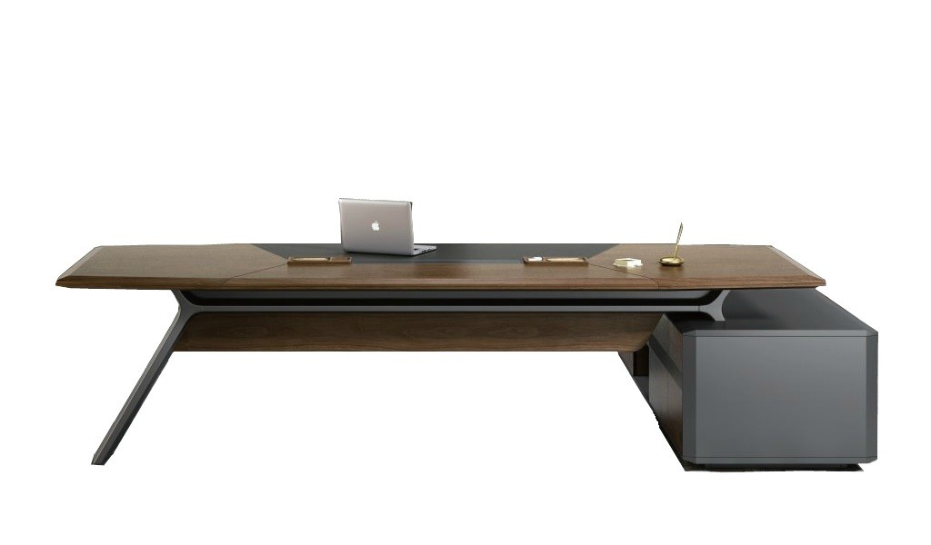 9 feet office table from Italian Aulenti series