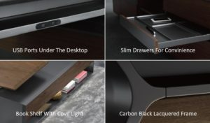premium office table design and features