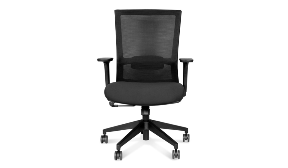 office chair with adjustable lumbar support
