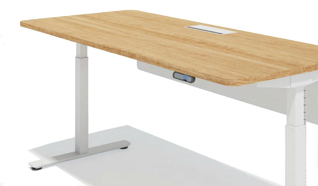 motorized height adjustable desk control panel