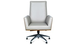 office chair in premium leather