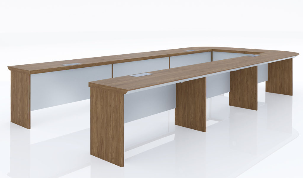 16 feet U shape conference table