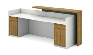 reception table inside view