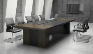 conference room with conference table and chairs