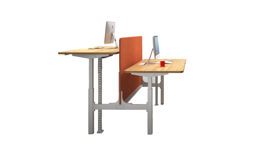 a motorized height adjustable workstations system