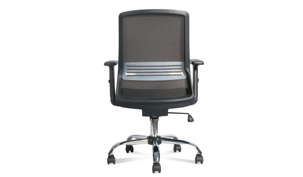 office chair with mesh back and lumbar support