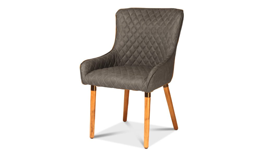 multi-purpose restaurant chair with wooden legs