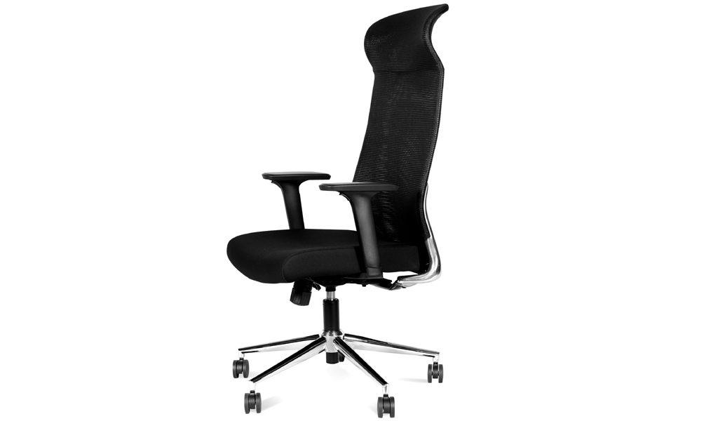 high back office chair with synchro tilt mechanism