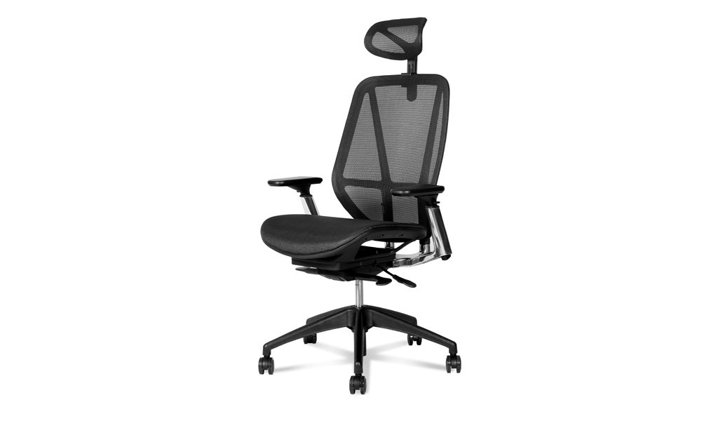 high back office chair with ergonomic design