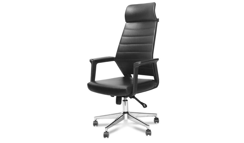 office chair with steel base