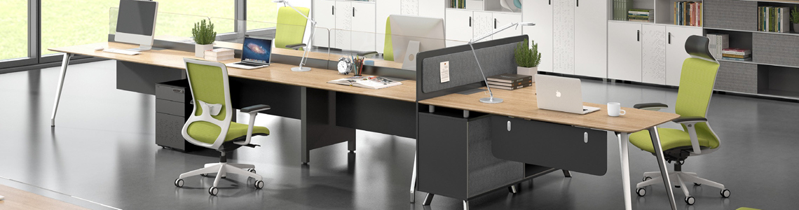 Workstations providing responsive solutions for creating human centric work places.